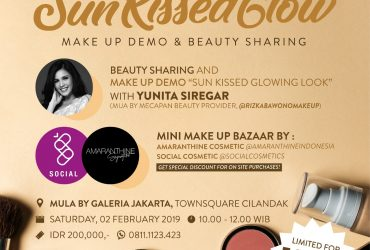 Sun Kissed Glow Make Up Demo & Beauty Sharing