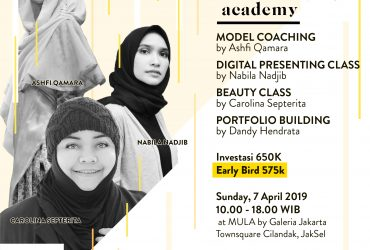 Jakarta Models Academy Workshop
