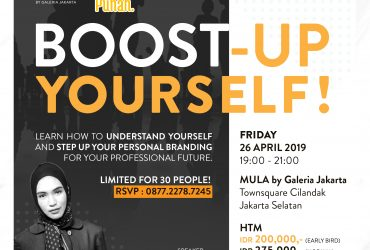 BOOST UP YOURSELF : Personal Branding