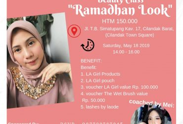 L.A. Girl BEAUTY CLASS : RAMADHAN LOOK