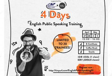 BerMULA Training : 4 Day English Public Speaking Training