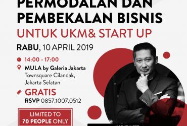 Permodalan dan Pembekalan Bisnis untuk UKM & Start Up