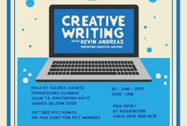 Provoke! Youth Club : Creative Writing