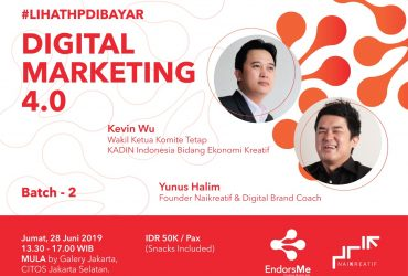 Digital Marketing 4.0 Workshop