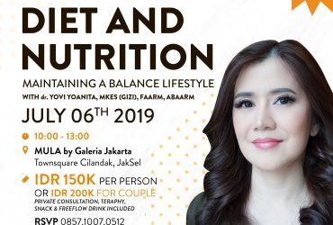 Diet & Nutrition : Maintaining a Balance Lifestyle