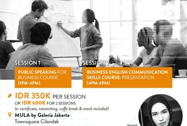 Public Speaking Classes with Tutur Indonesia