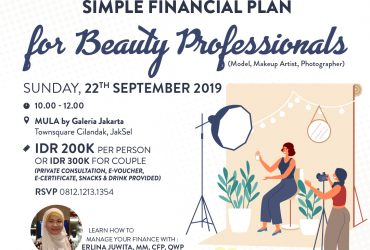 Simple Financial Planning for Beauty Professionals (Model, Artist, Photographer, etc)