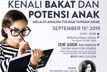 GRAPHOLOGY PARENTING : Kenali Bakat dan Potensi Anak Melalui Analisa Tulisan Tangan Anak