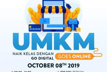 MULA x BLIBLI.COM UMKM GOES ONLINE : Naik Kelas dengan Go-Digital