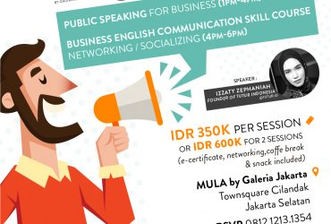 MULA x TUTUR PUBLIC SPEAKING & BUSINESS ENGLISH